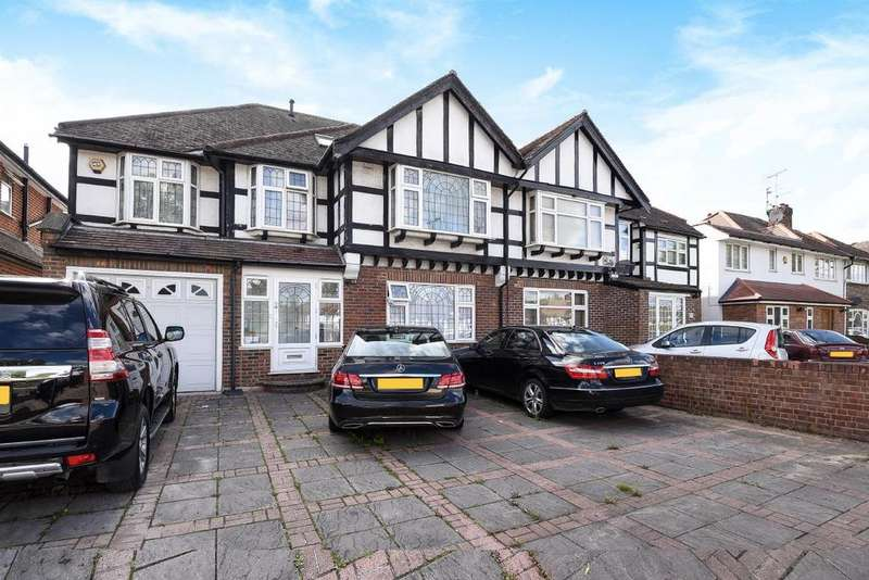 5 Bedrooms Semi Detached House for sale in Robin Hood Way, Kingston