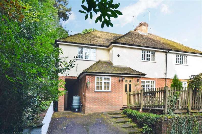 4 Bedrooms Semi Detached House for sale in Bourne Grove, Lower Bourne, Farnham