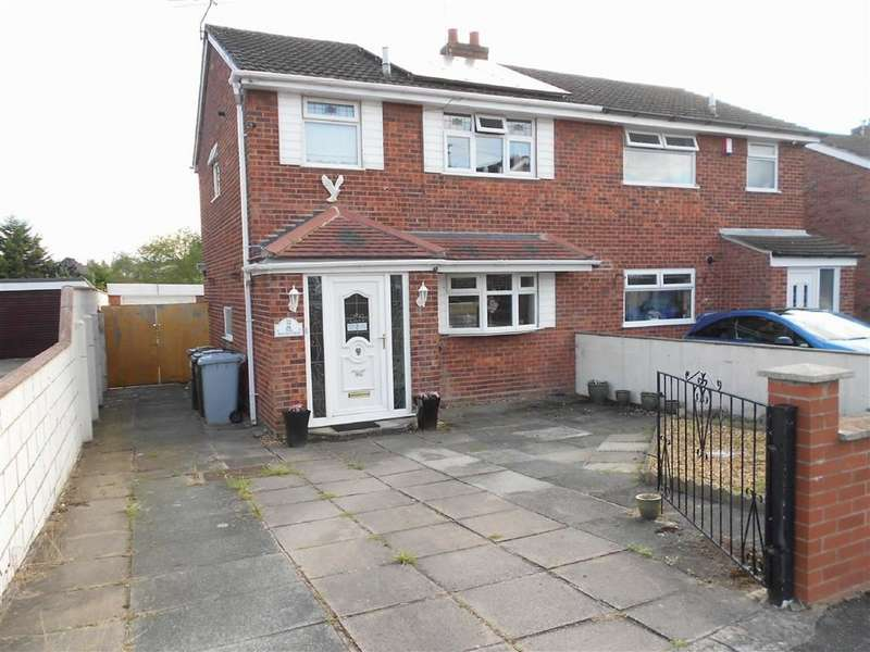 3 Bedrooms Semi Detached House for sale in Westbourne Avenue, Crewe, Cheshire