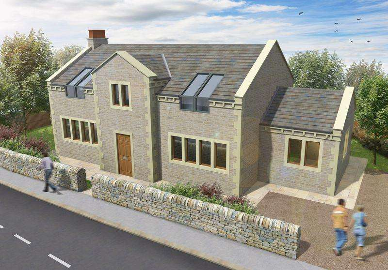 4 Bedrooms Detached House for sale in Pinfold Rise, Barkisland, Halifax
