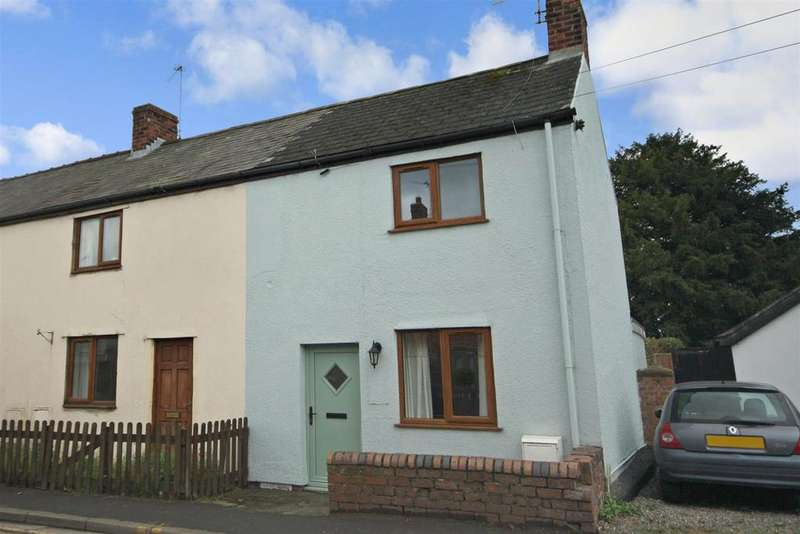 2 Bedrooms Semi Detached House for sale in Station Road, Whittington, Oswestry