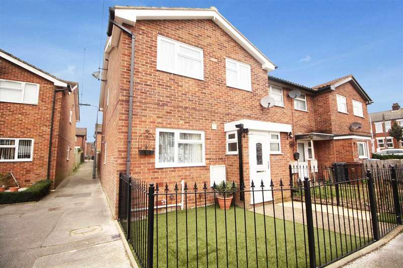 4 Bedrooms End Of Terrace House for sale in Spinner Close, Ipswich