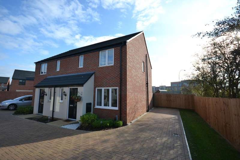 3 Bedrooms Semi Detached House for sale in Walmer Close, Marina Park, Northampton, NN5