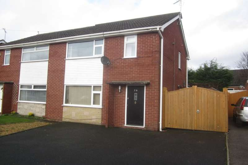 3 Bedrooms Semi Detached House for sale in Lear Drive, Wistaston, Crewe, CW2