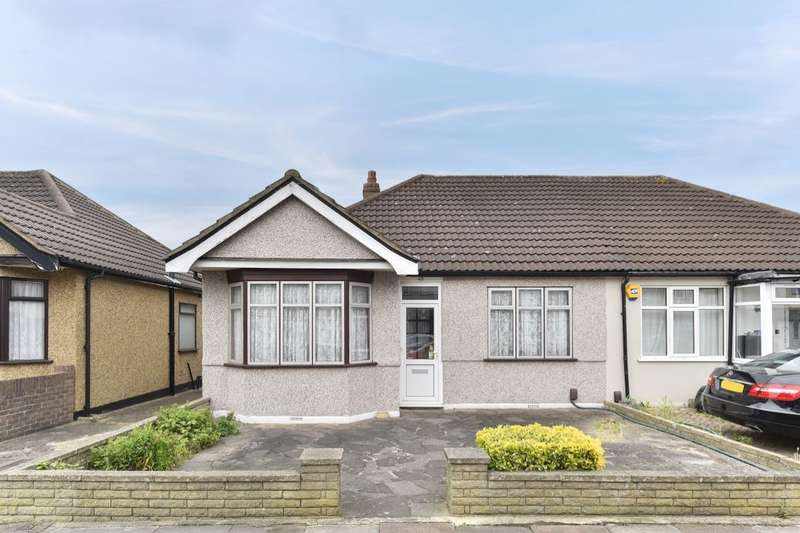 2 Bedrooms Semi Detached Bungalow for sale in Somerville Road, Chadwell Heath, Romford, RM6