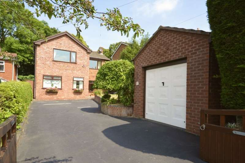 4 Bedrooms Detached House for sale in Rockfield Drive, Helsby, Frodsham, WA6