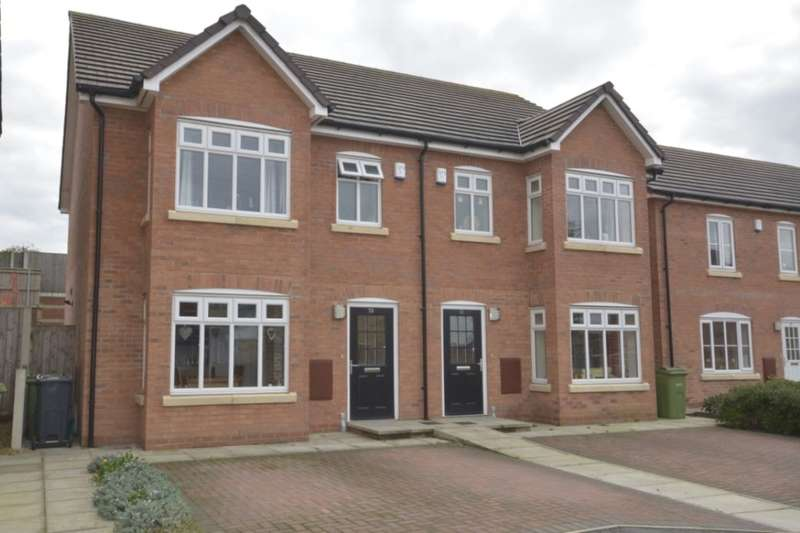 3 Bedrooms Semi Detached House for sale in Waterside Drive, Frodsham, WA6