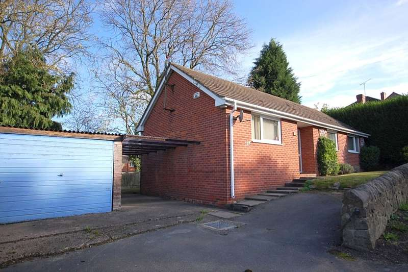 3 Bedrooms Detached Bungalow for sale in Kilbourne Road, Belper, DE56
