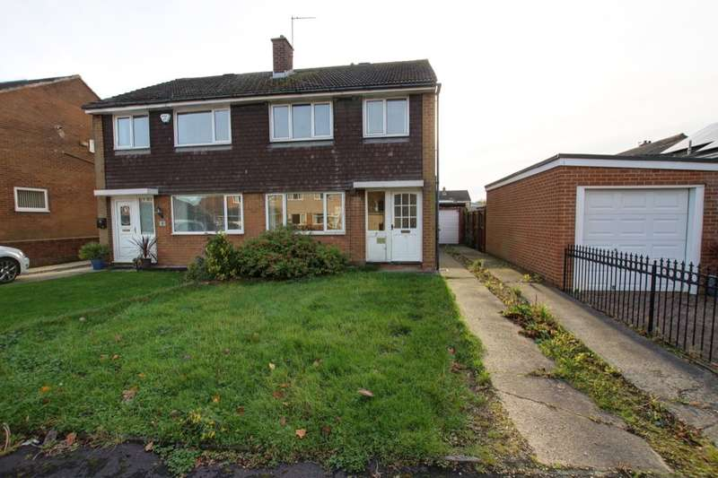 3 Bedrooms Semi Detached House for sale in Dene Drive, Carrville, Durham, DH1