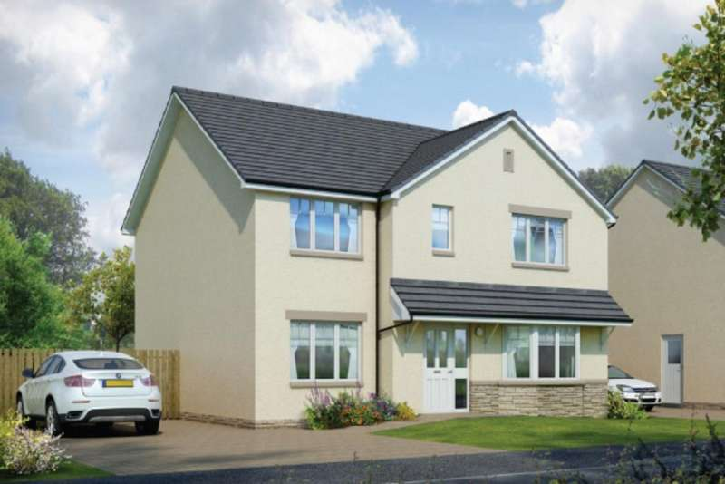 4 Bedrooms Detached House for sale in Plot 33 Cairngorm, Oaktree Gardens, Alloa Park, Alloa, Stirling, FK10 1QY