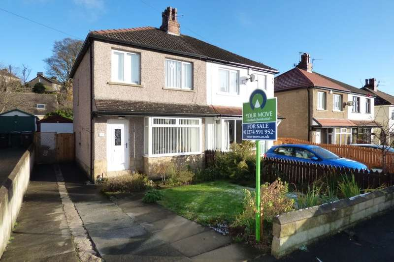 3 Bedrooms Semi Detached House for sale in Netherhall Road, Baildon, Shipley, BD17