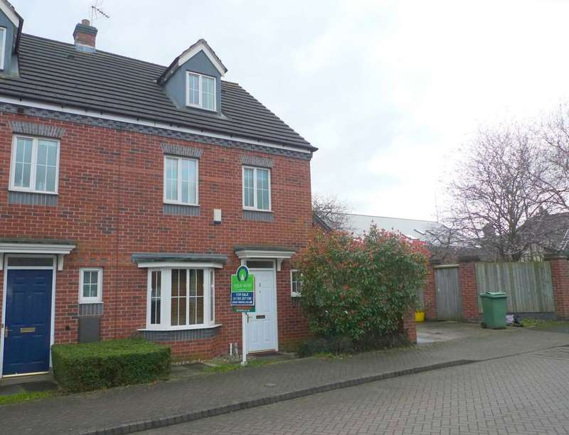 4 Bedrooms Semi Detached House for sale in Marston Grove, Stafford, ST16