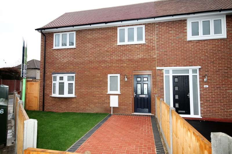 2 Bedrooms Semi Detached House for sale in A White Hart Lane, Romford, RM7