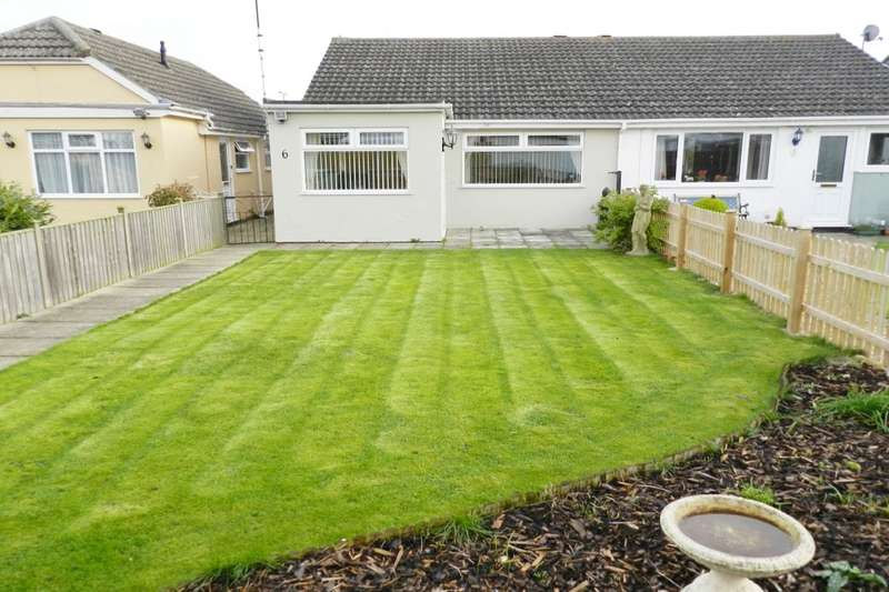 2 Bedrooms Semi Detached Bungalow for sale in Grosvenor Court, Mablethorpe, LN12