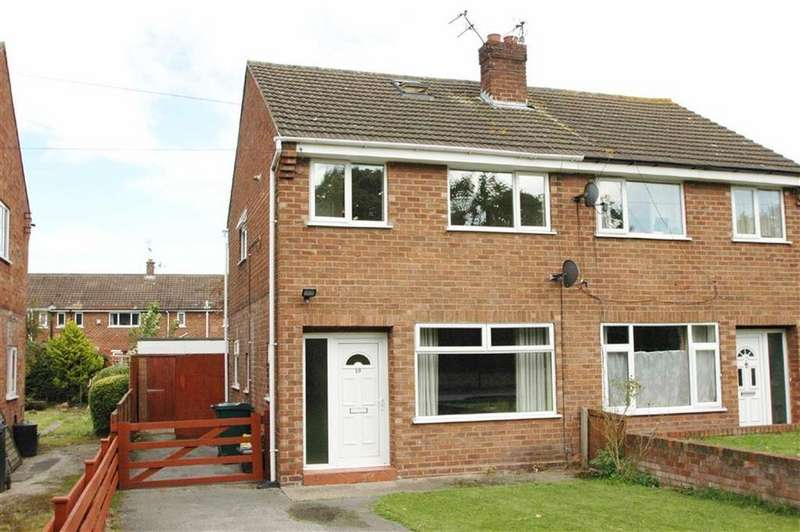 2 Bedrooms Semi Detached House for sale in Clifton Drive, Blacon, Chester