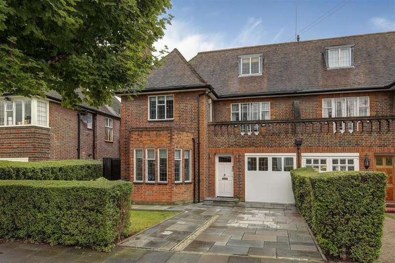 5 Bedrooms Semi Detached House for sale in Linden Lea, N2