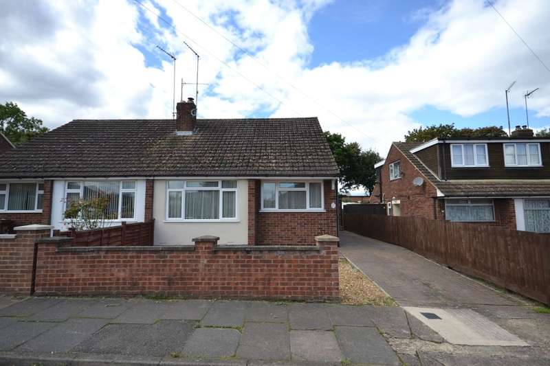 2 Bedrooms Semi Detached House for sale in Thirlestane Crescent, Far Cotton, Northampton, NN4