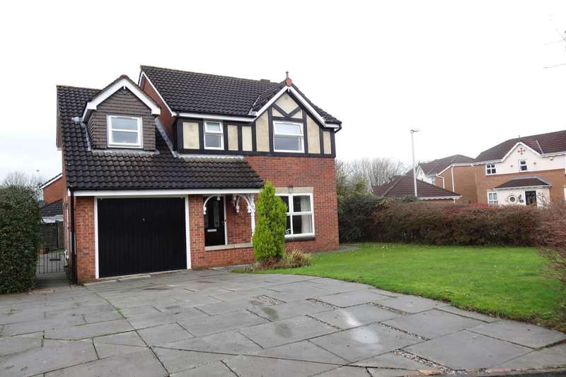 4 Bedrooms Detached House for sale in Squires Wood, Fulwood, Preston, PR2