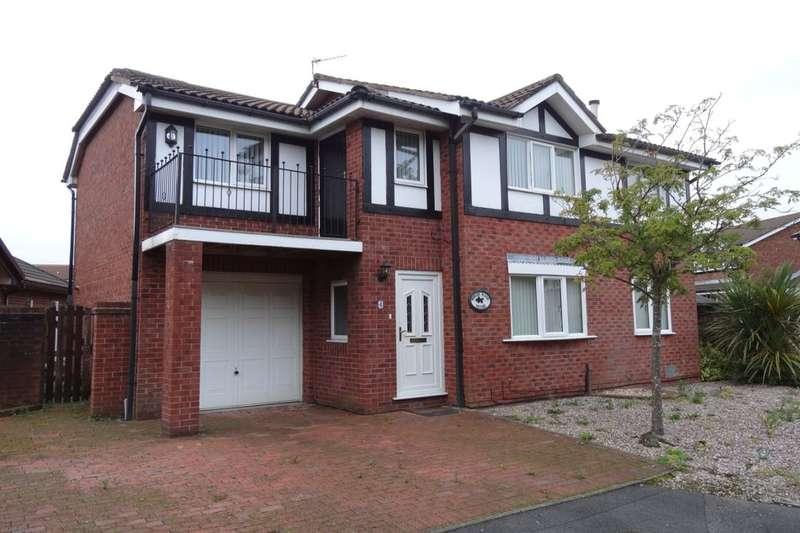 4 Bedrooms Detached House for sale in Azalea Close, Fulwood, Preston, PR2