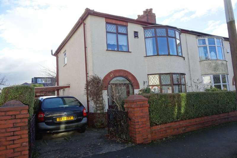 3 Bedrooms Semi Detached House for sale in Methuen Avenue, Fulwood, Preston, PR2