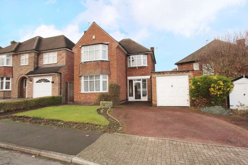 3 Bedrooms Detached House for sale in Charlecote Drive, Wollaton, Nottingham, NG8