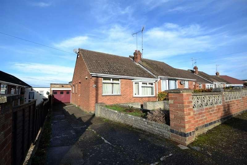 2 Bedrooms Semi Detached Bungalow for sale in Fairmead Rise, Kingsthorpe, Northampton, NN2