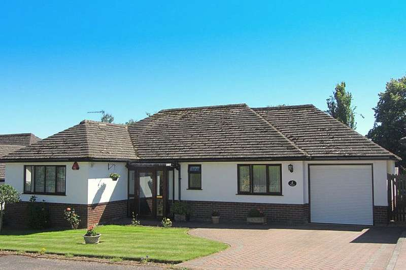 2 Bedrooms Detached Bungalow for sale in Coombe Hayes, Sidmouth, EX10