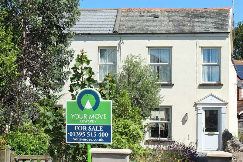2 Bedrooms Semi Detached House for sale in Salcombe Road, Sidmouth, EX10