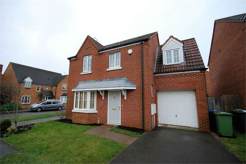 4 Bedrooms Detached House for rent in Durrell Drive, Cawston Grange, Rugby, Warwickshire