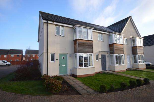3 Bedrooms End Of Terrace House for sale in Robert Davy Road, The Rydons, Exeter, Devon