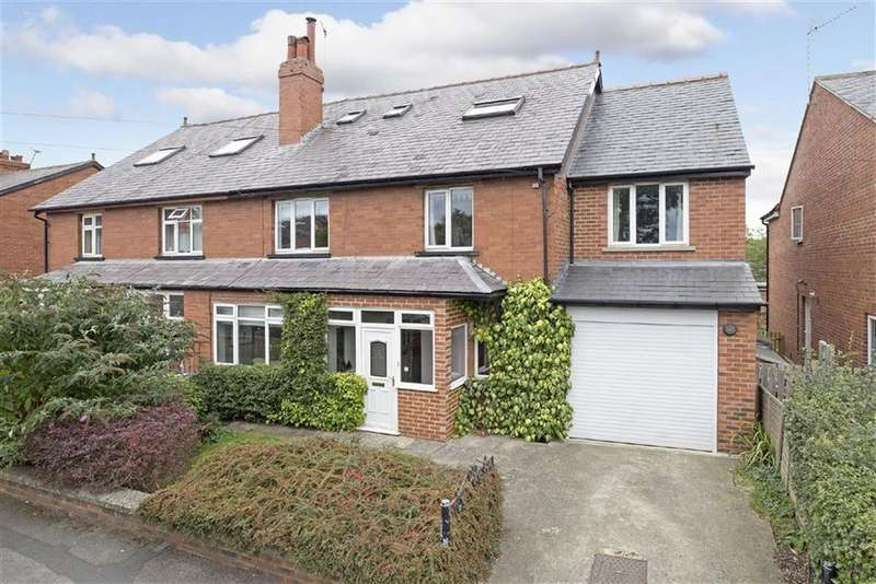 5 Bedrooms Semi Detached House for sale in Stockdale Walk, Knaresborough, North Yorkshire