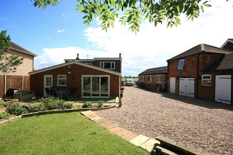 4 Bedrooms Detached House for sale in Wigtoft Road, Sutterton, PE20