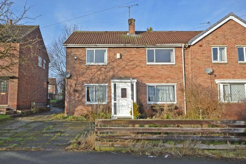 3 Bedrooms Semi Detached House for sale in Wharncliffe Road, Kettlethorpe, Wakefield