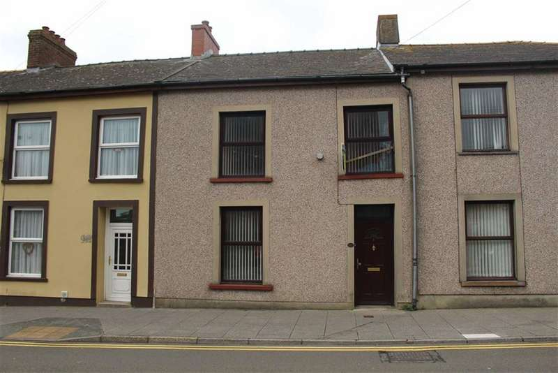 3 Bedrooms Terraced House for sale in High Street, Neyland, Milford Haven