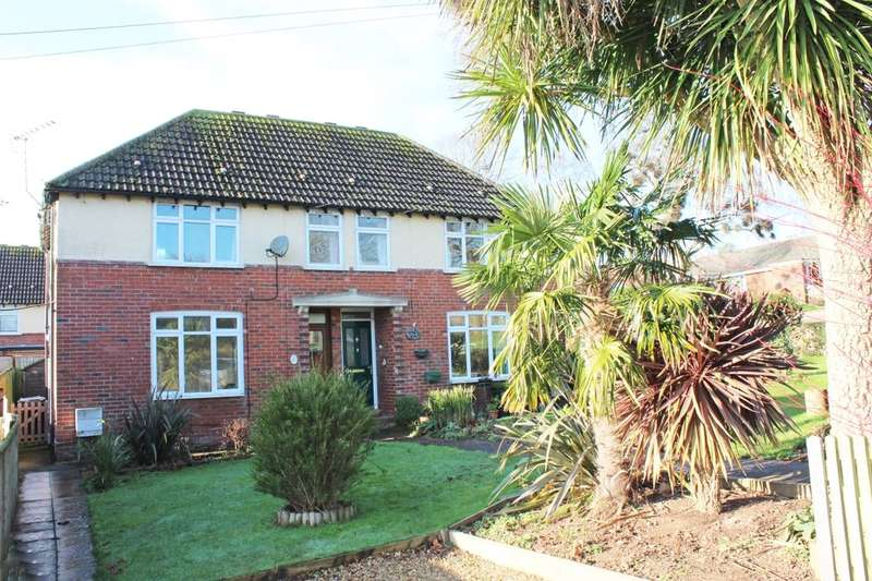 3 Bedrooms Semi Detached House for sale in Manstone Avenue, Sidmouth, EX10