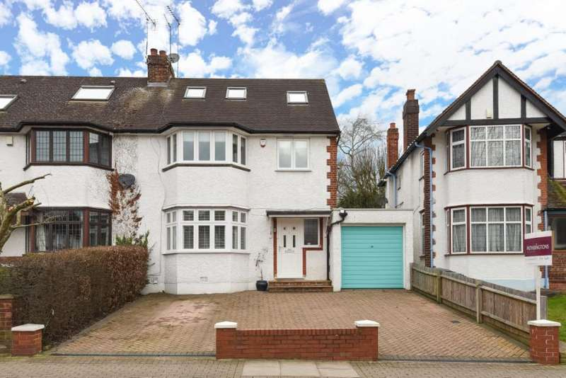 4 Bedrooms Semi Detached House for sale in Leicester Road, Barnet