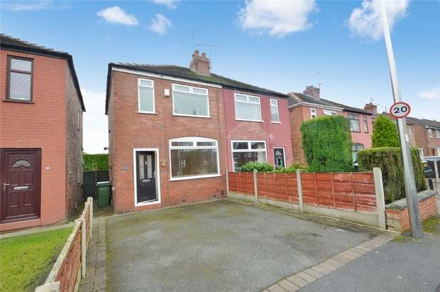 2 Bedrooms Semi Detached House for sale in Clovelly Road, Offerton, Stockport, Cheshire