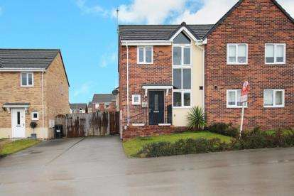 3 Bedrooms Semi Detached House for sale in Gower Way, Rawmarsh, Rotherham, South Yorkshire