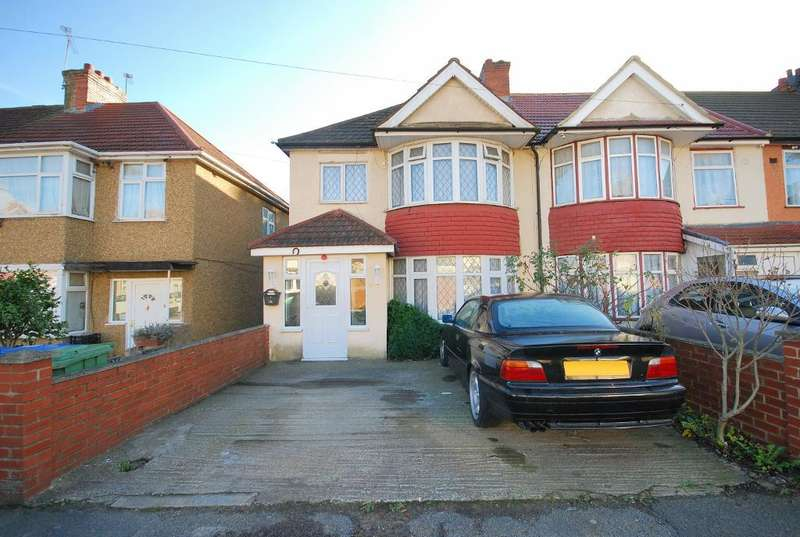 3 Bedrooms End Of Terrace House for sale in WOODSIDE END, WEMBLEY, MIDDLESEX, HA0 1UR
