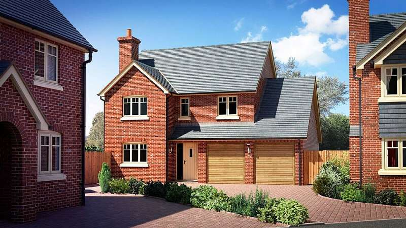 4 Bedrooms Detached House for sale in Plot 10 - The Walford, Perry View, Prescott, Baschurch, Shropshire, SY4