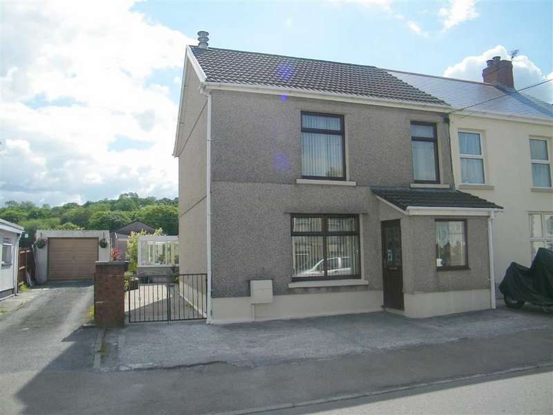 3 Bedrooms Semi Detached House for sale in Heol Y Gors, Cwmgors