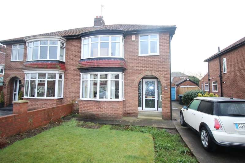 3 Bedrooms Semi Detached House for sale in Embleton Avenue, Middlesbrough, TS5