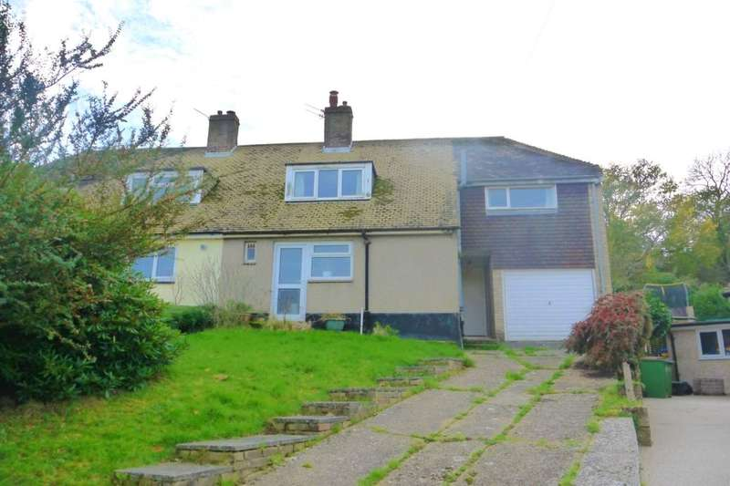 4 Bedrooms Semi Detached House for sale in Woodlands Drive, Hythe, CT21