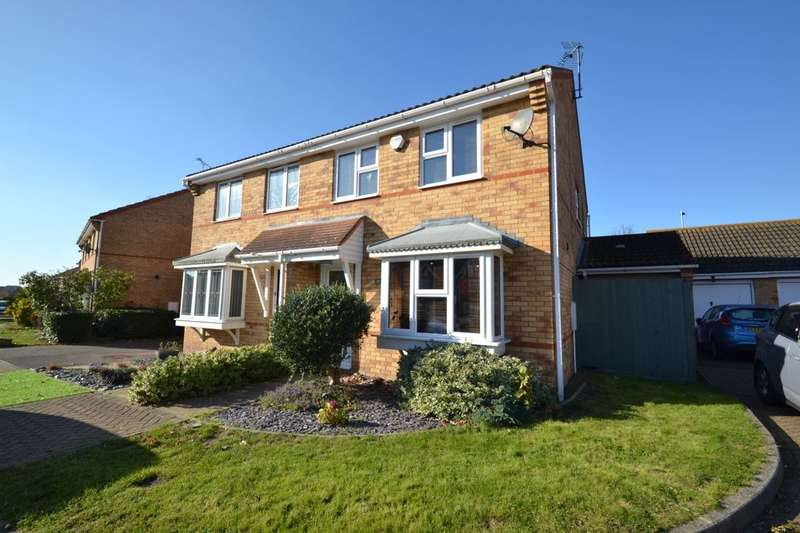 3 Bedrooms Semi Detached House for sale in Sandstone Drive, Kemsley, Sittingbourne, ME10