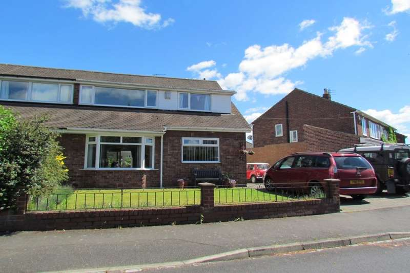 4 Bedrooms Semi Detached House for sale in Princes Road, Brunton Park, Gosforth, NE3
