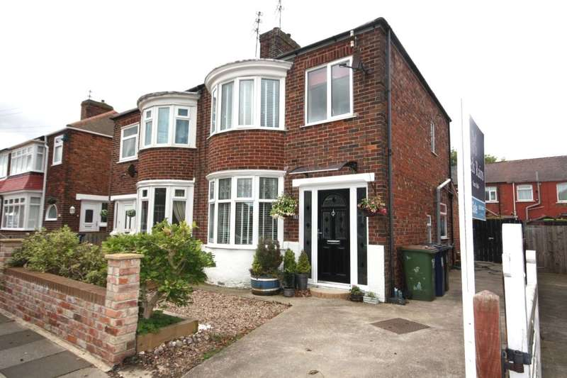 3 Bedrooms Semi Detached House for sale in Canterbury Road, Redcar, TS10