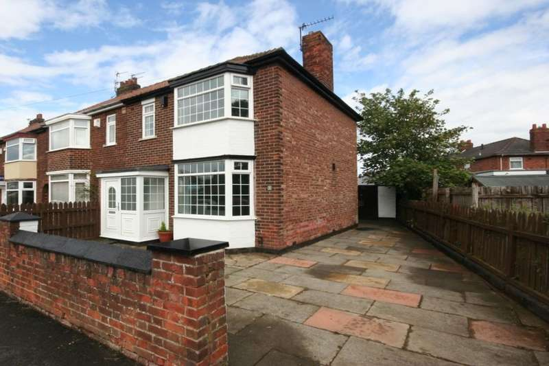 3 Bedrooms Semi Detached House for sale in Endsleigh Drive, Acklam , Middlesbrough, TS5