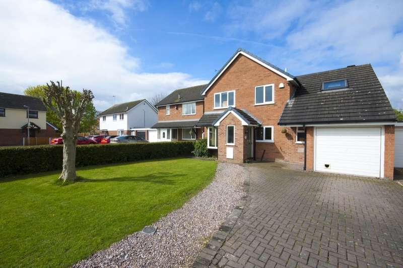 4 Bedrooms Detached House for sale in Bridle Hey, Nantwich, CW5
