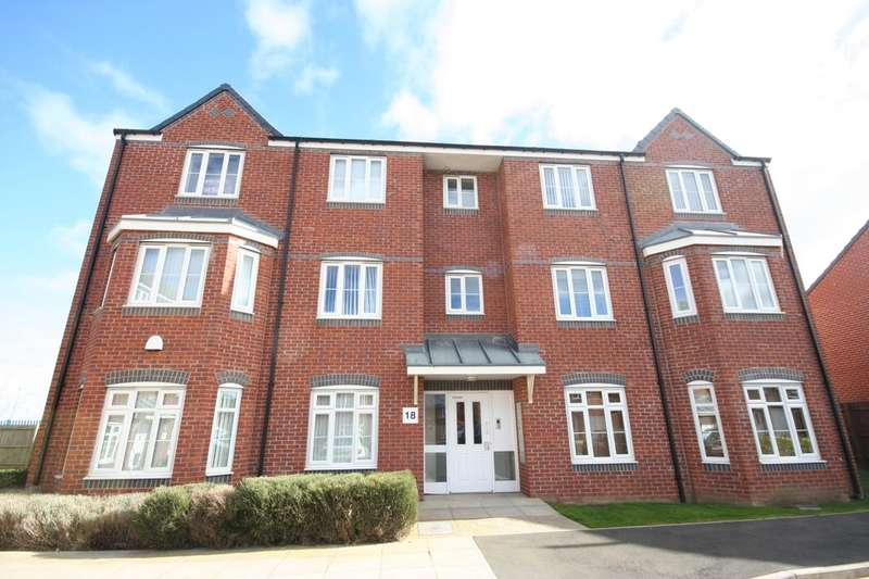 2 Bedrooms Flat for rent in Scholars Rise, Middlesbrough, TS4