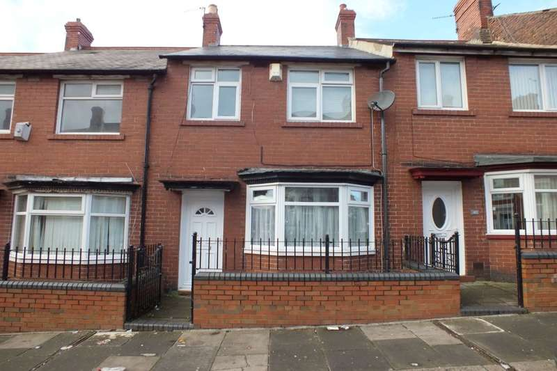 3 Bedrooms Terraced House for sale in Hampstead Road, Newcastle Upon Tyne, NE4